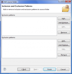 Eclipse File Patterns